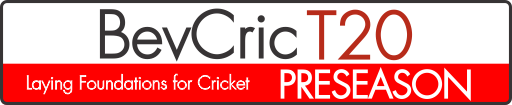 BevCric T20 Preseason Laying Foundation for Cricket