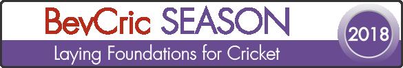 BevCric SEASON Fixtures 2018